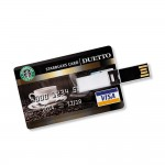 8 GB Speicherkarte in Scheckkartenform Starbucks Card USB – Bild 3