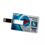 16 GB Speicherkarte in Scheckkartenform Bank of America Platinum Visa Card USB – Bild 3